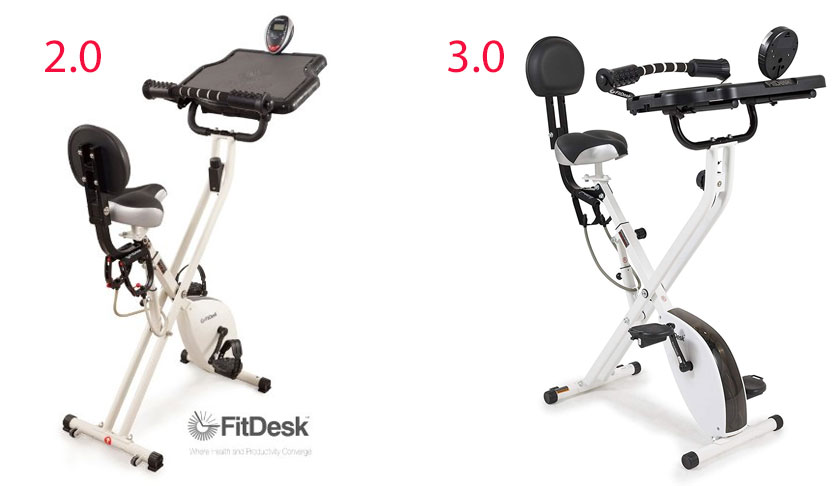 FitDesk Exercise Bike