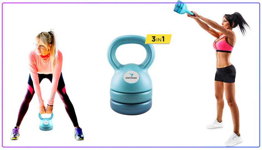 Empower Kettlebell Best Adjustable Kettlebell for Women