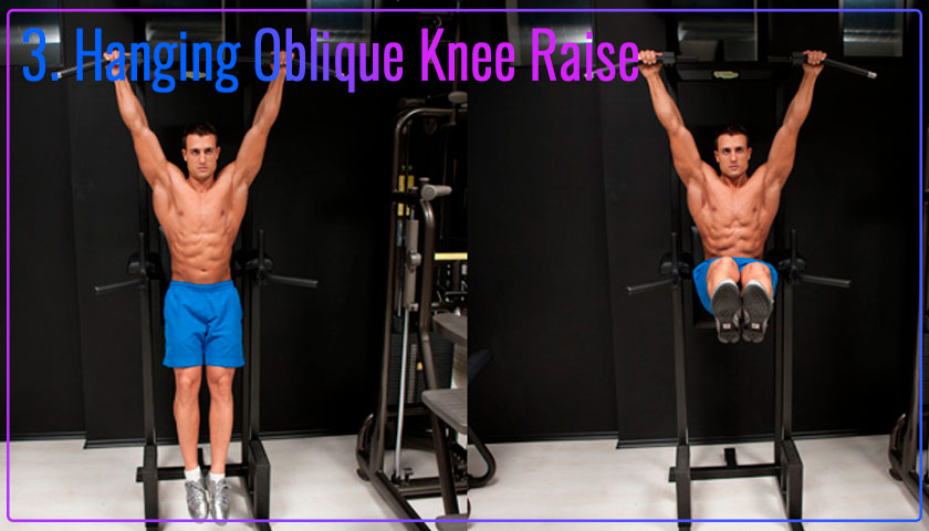 Hanging Oblique Knee Raise