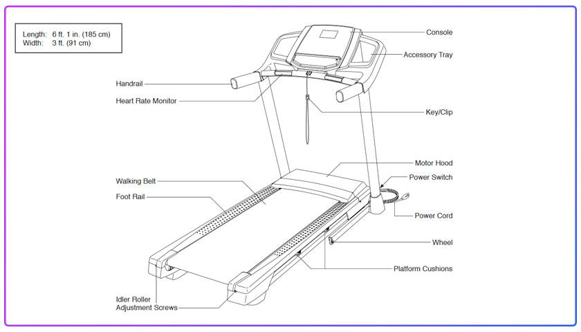 nordictrack t 6.5 s treadmill manual