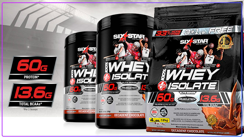 six star whey isolate review
