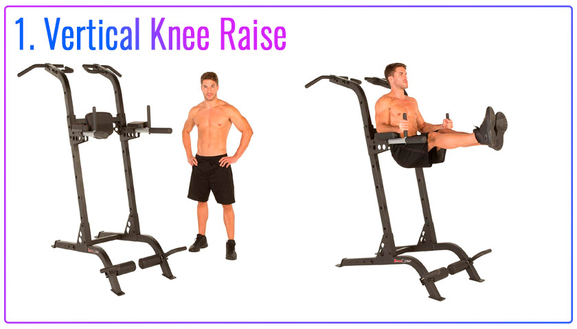 Vertical Knee Raise
