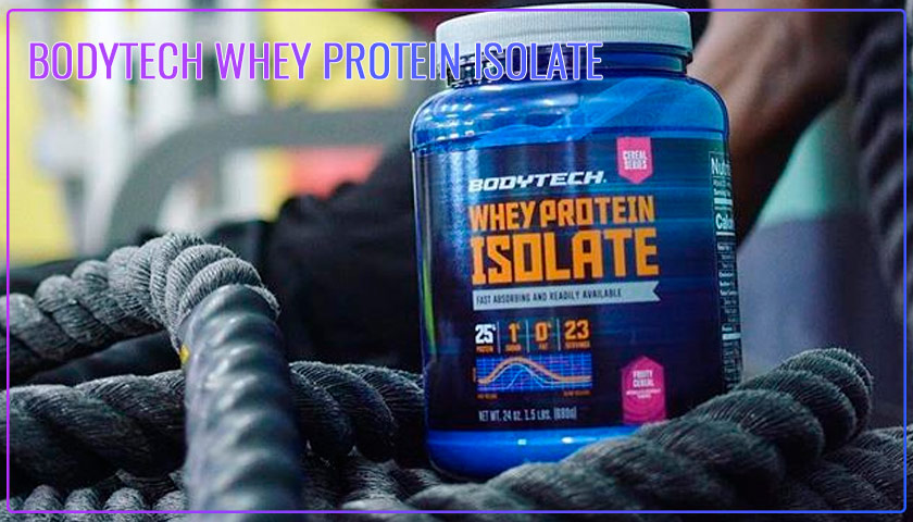body tech whey protein isolate reviews