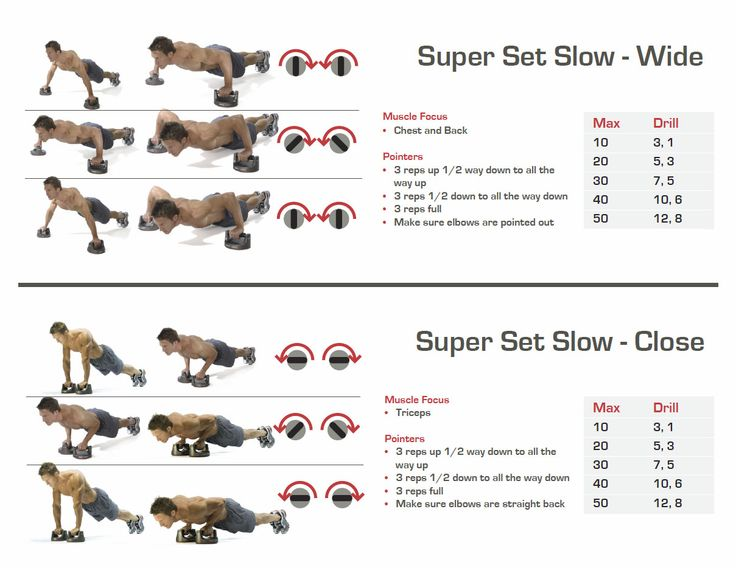 Perfect Pushup Elite exercises
