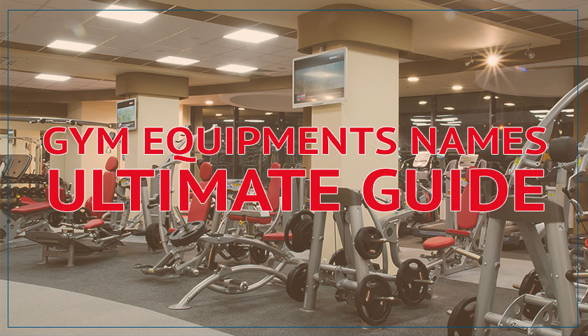 gym equipments names