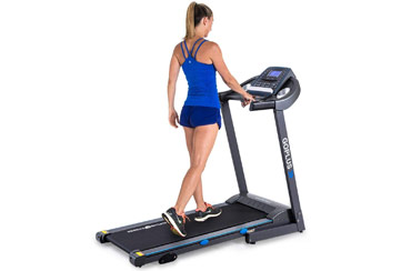 Goplus 2.25 HP Electric Folding Treadmill