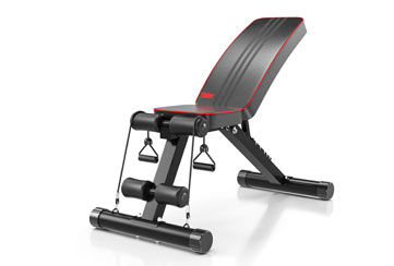 Yoleo Adjustable Weight Bench review