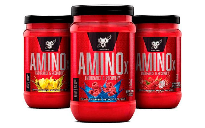 BSN Amino X Available Flavours