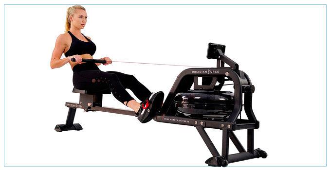 Benefits of water rowing machines