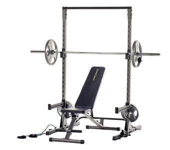 Fitness Reality half rack