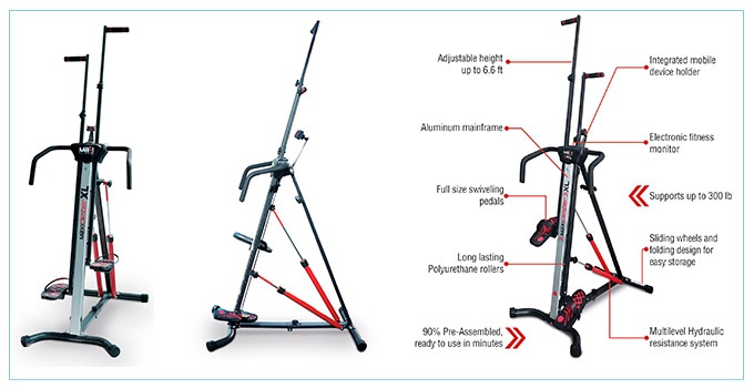 MaxiClimber XL-2000 Features