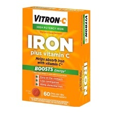 Vitron-C High Potency Iron review