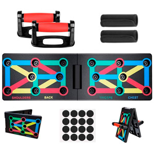Color-Coded Push-up Stands review
