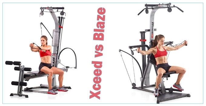 Bowflex Xceed vs Blaze
