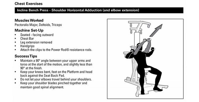 Bowflex PR3000 workout routines PDF